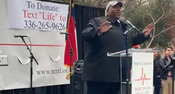 N.C. Lt. Gov. Gives Stirring Pro-Life Speech